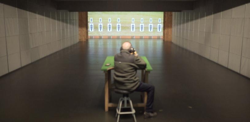 Indoor shooting ranges