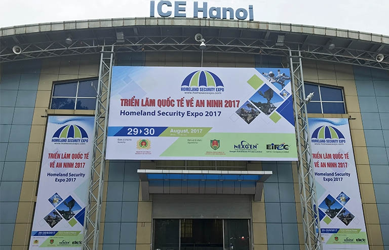 Homeland Security Expo in Hanoi 2017